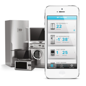 New smart appliances give customers the ability to control their home from their mobile device.